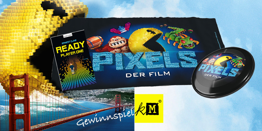 Pixels Gewinnspiel - Adam Sandler - Kevin James - Sony - kulturmaterial