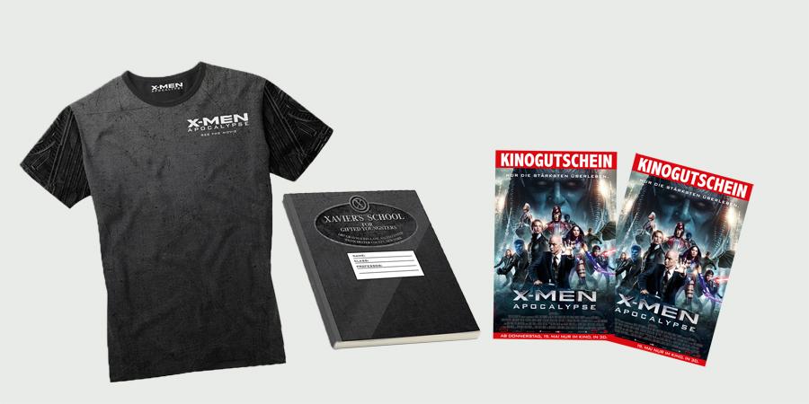 X-Men Apocalypse - 20th Century Fox - kulturmaterial - Fanartikel Gewinnspiel