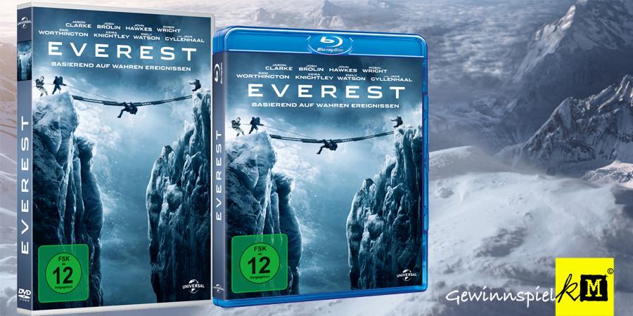 Everest Blu-ray - Universal - kulturmaterial - Title - Fan Artikel Gewinnspiel
