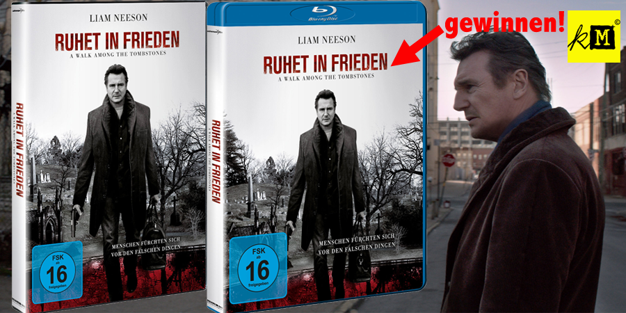 Ruhet in Frieden - Walk among the Tombstones - Liam Neeson - Universum - kulturmaterial