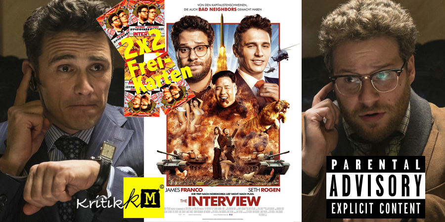 The Interview-Film-Seth Rogen-James Franco-Sony-kulturmaterial-Gewinnspiel