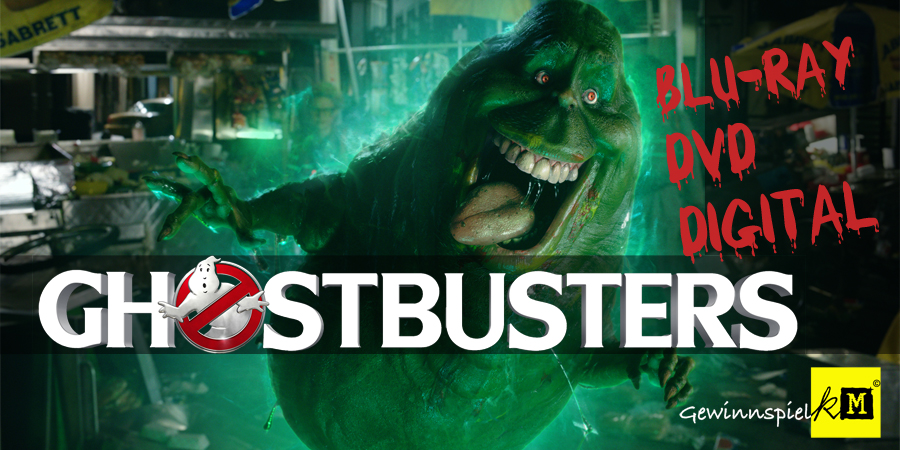 Ghostbusters Blu-ray - Sony - kulturmaterial - Title