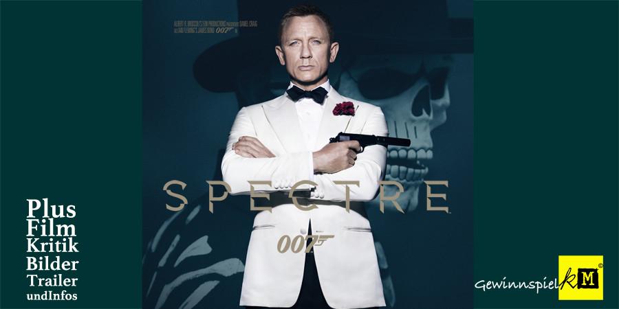 Spectre - Bond 24 - Daniel Craig - Christoph Waltz - Léa Seydoux - Sony - kulturmaterial