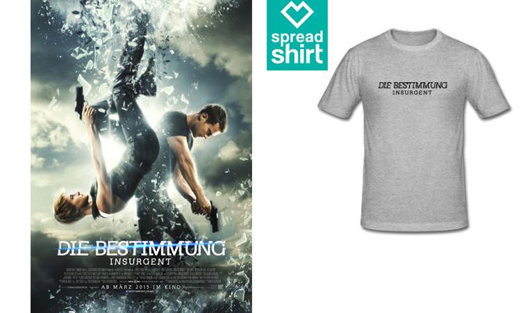 Die Bestimmung Insurgent - T-Shirt - Spreadshirt - Concorde - kulturmaterial