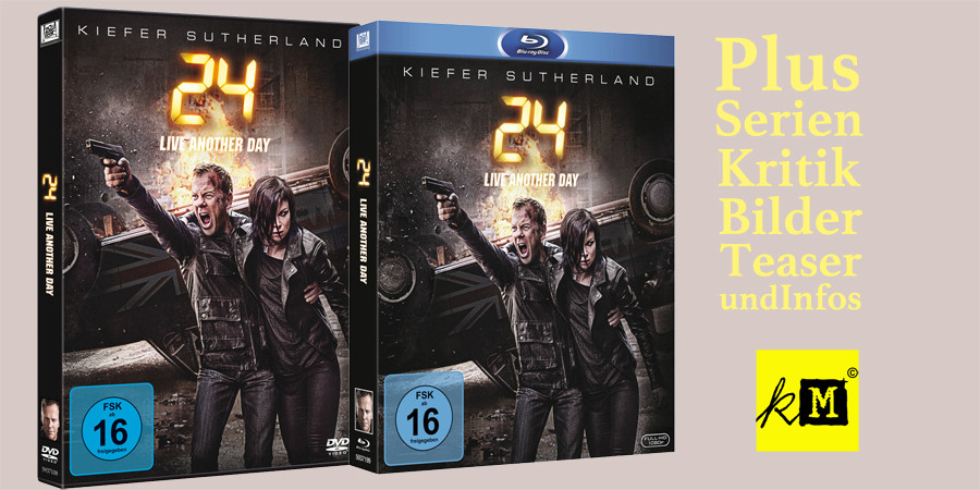 24 Live Another Day - Kiefer Sutherland - 20th Century Fox - kulturmaterial