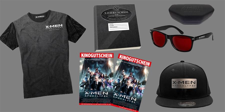 X-Men Apocalypse - 20th Century Fox - kulturmaterial - Fan-Artikel Gewinnspiel