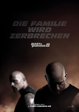 FAST and FURIOUS 8 - Universal - kulturmaterial