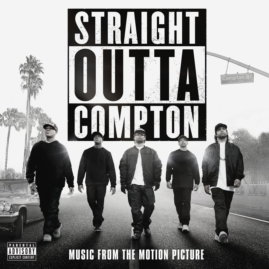 Ice Cube - Straight Outta Compton Blu-ray DVD - Universal - kulturmaterial - Fan Artikel Soundtrack