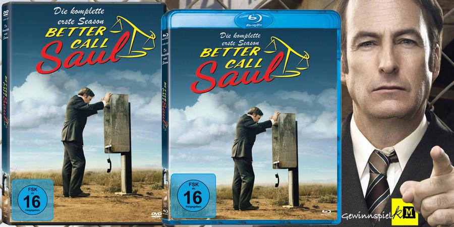 Better Call Saul Blu-ray DVD - Bob Odenkirk - Sony - kulturmaterial
