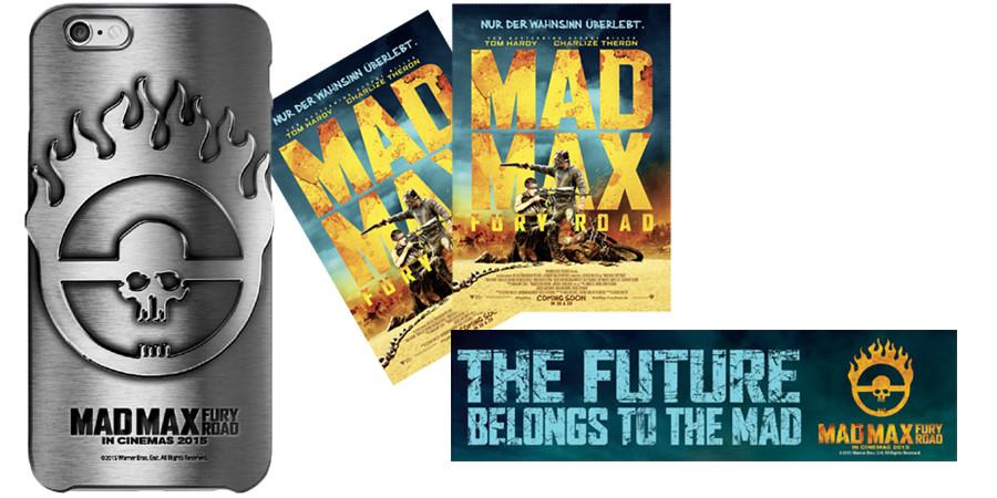 Mad Max Fury Road - Gewinnspiel - Warner Bros - kulturmaterial - Title - iPhone 6 Hülle - Kino Freikarten