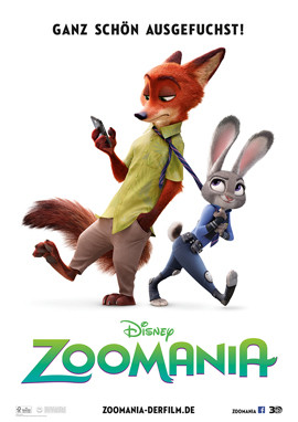 Zoomania im Kino - Disney - kulturmaterial