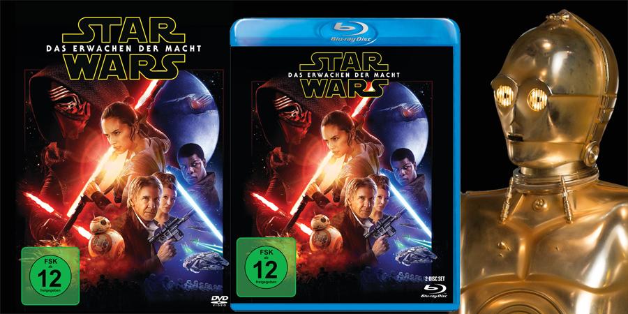 Star Wars 7 Blu-ray - Lucasfilm - kulturmaterial