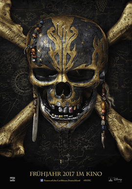 PIRATES OF THE CARIBBEAN 5 - SALAZARS RACHE - Disney - kulturmaterial