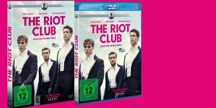 The Riot Club - Bluray - DVD - Prokino - kulturmaterial