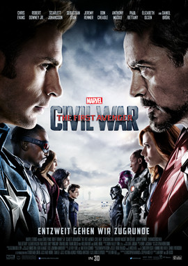 THE FIRST AVENGER Civil War - Chris Evans - Marvel - kulturmaterial