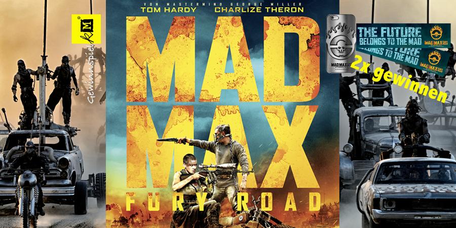 Mad Max Fury Road - Gewinnspiel - Warner Bros - kulturmaterial