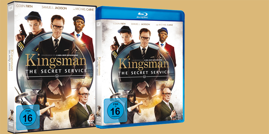 Kingsman Secret Service Blu-ray DVD Digital HD - 20th Century Fox - kulturmaterial