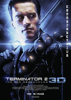 Terminator 2 3D - Arnold Schwarzenegger - Studiocanal - kulturmaterial