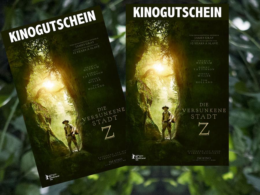 Die versunkene Stadt Z - ArtHaus Studiocanal - kulturmaterial - Gewinnspiel