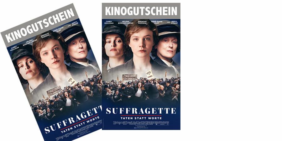 Sarah Gravon - Suffragette - Film - mit Carey Mulligan - Concorde - kulturmaterial - Fan Artikel Gewinnspiel