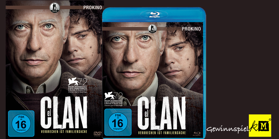 Guillermo Francella - El Clan Blu-ray - Prokino - kulturmaterial