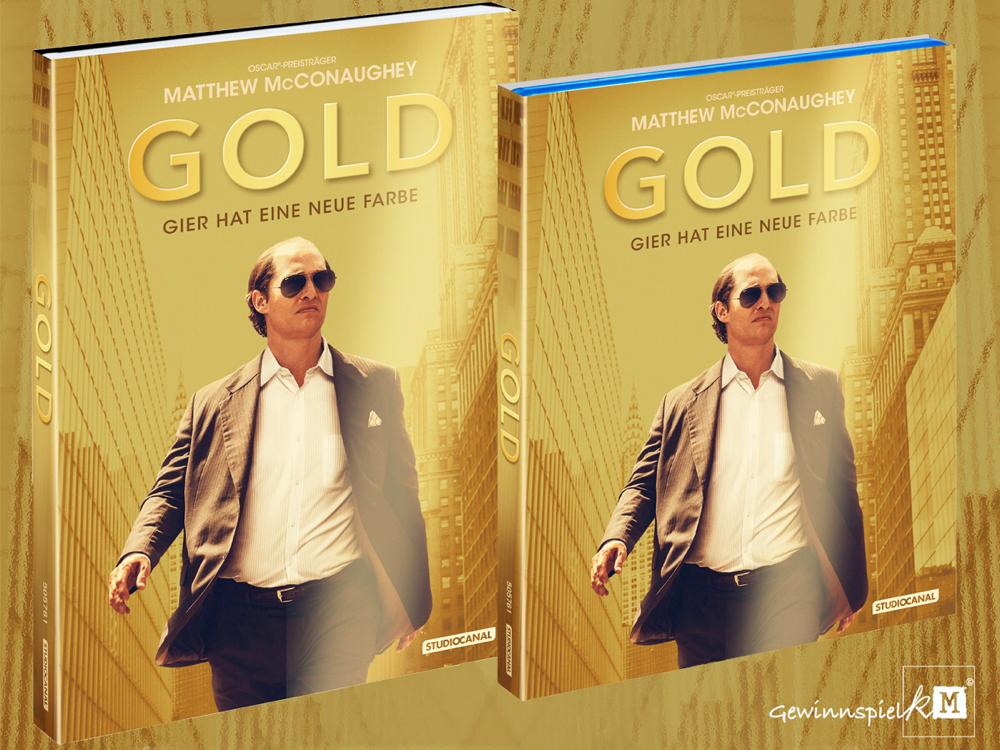 Gold Blu-ray - Matthew McConaughey - Studiocanal - kulturmaterial