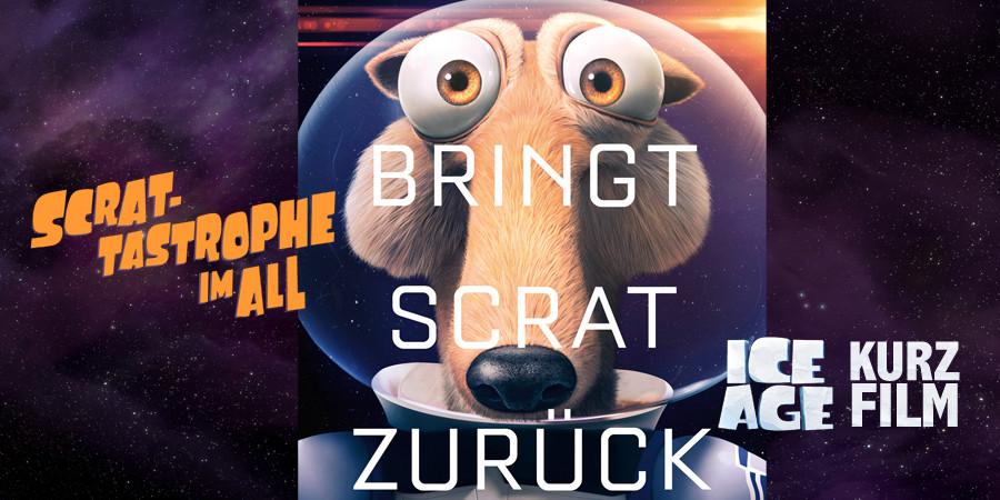 Ice Age 5 - Kollision Voraus - Kurzfilm Scrat-tastrophe im All - Fox Kino - kulturmaterial