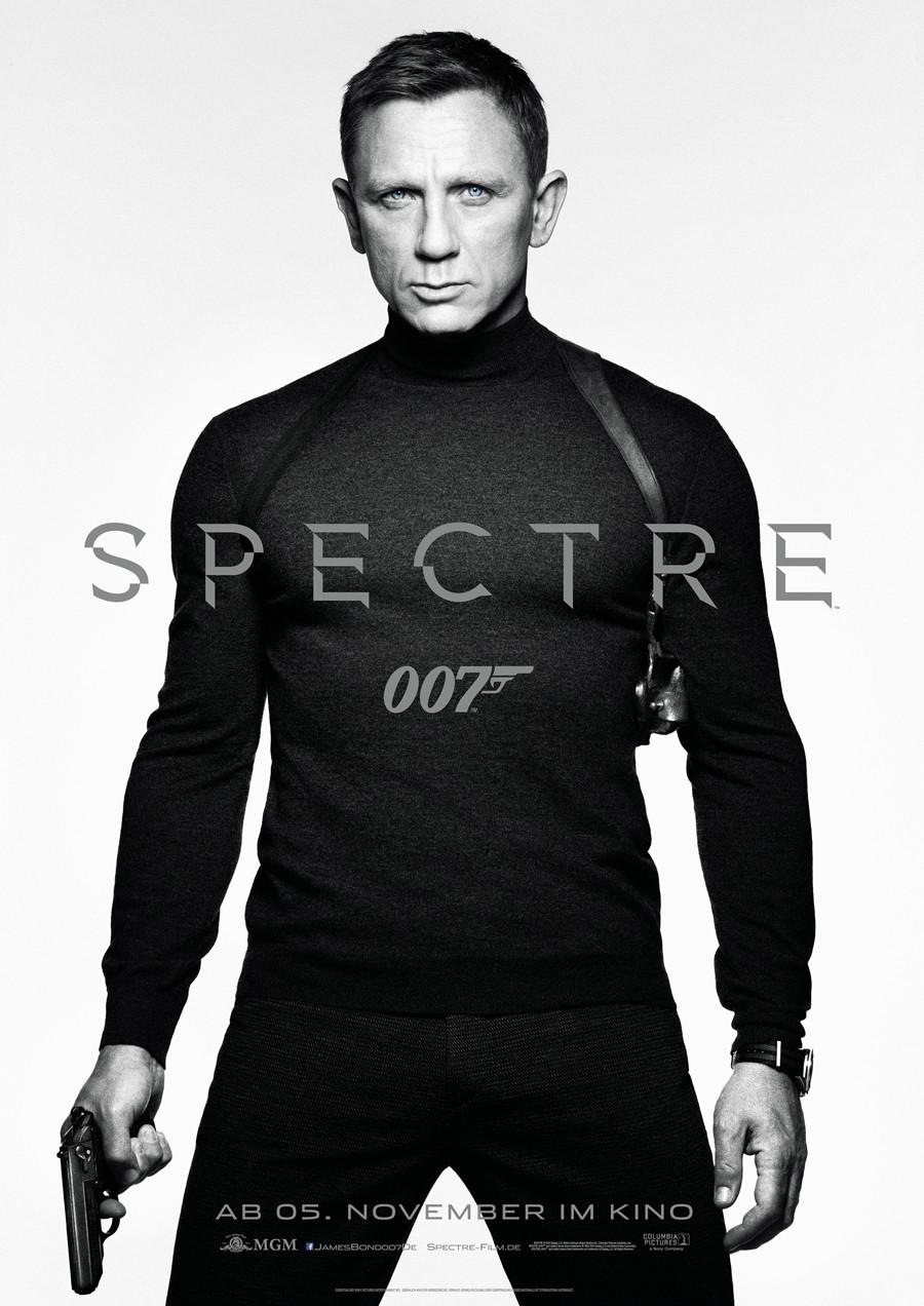 Spectre - Bond 24 - Sony - kulturmaterial - Teaser - Plakat