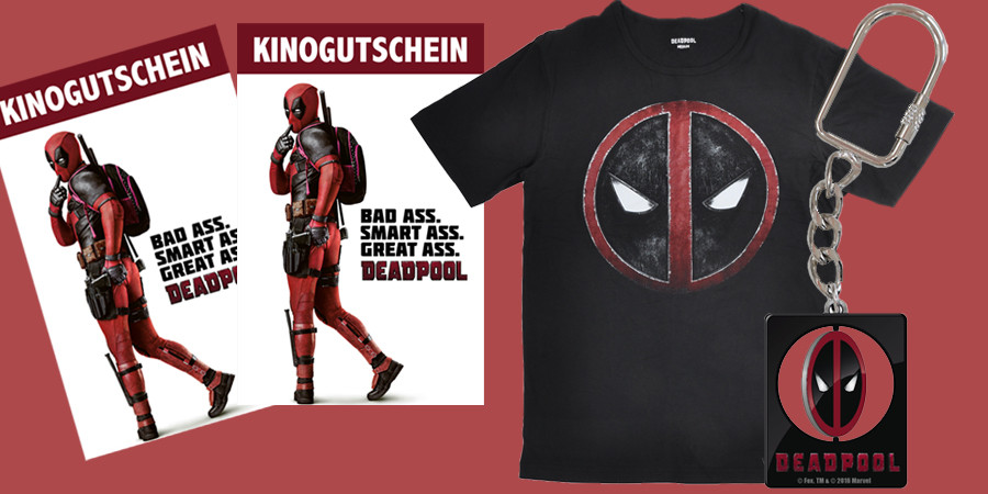 Deadpool - Marvel - Ryan Reynolds - 20th Century Fox - kulturmaterial - Fan Artikel Gewinnspiel