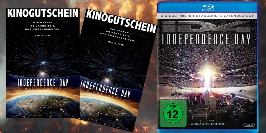 Independence Day 2 Gewinnspiel - 20th Century Fox - kulturmaterial
