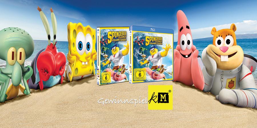Spongebob Schwammkopf - Schwamm aus dem Wasser - Bluray DVD - Paramount - kulturmaterial