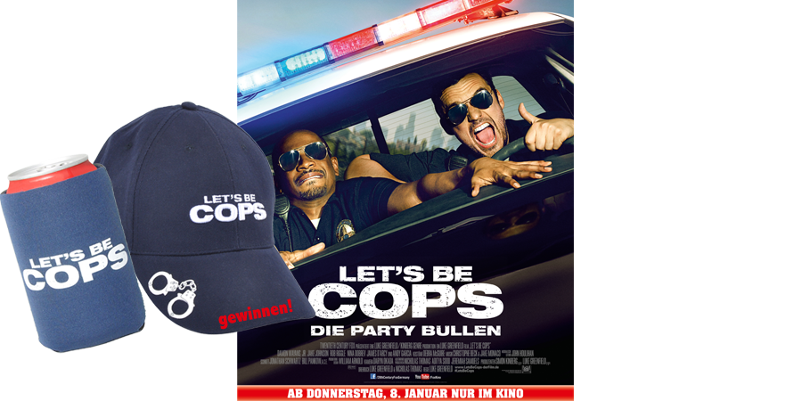 Lets Be Cops-Gewinnspiel-Kino-20th Century Fox-kulturmaterial