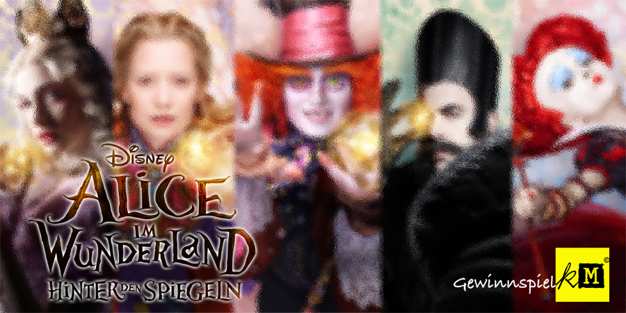 Alice im Wunderland 2 - Hinter den Spiegeln - Disney - kulturmaterial - Title