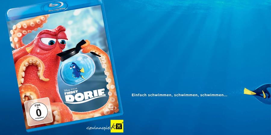 Findet Dorie Blu-ray - Disney Pixar - kulturmaterial