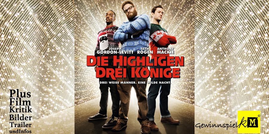 Die Highligen Drei Könige - Joseph Gordon-Levitt - Seth Rogen - Anthony Mackie - Sony - kulturmaterial