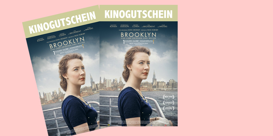 Brooklyn Kino Film - 20th Century Fox - kulturmaterial - Fan Artikel Gewinnspiel