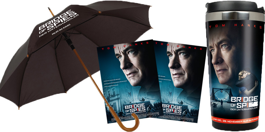 Bridge Of Spies - Steven Spielberg - Tom Hanks - 20th Century Fox - kulturmaterial - Fan Artikel Gewinnspiel