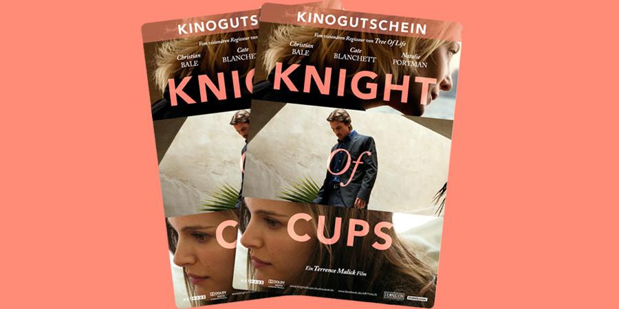 Knight Of Cups Gewinnspiel - Christian Bale - Studiocanal - kulturmaterial - Kinofreikarten