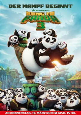Kung Fu Panda 3 IM KINO - 20th Century Fox - kulturmaterial