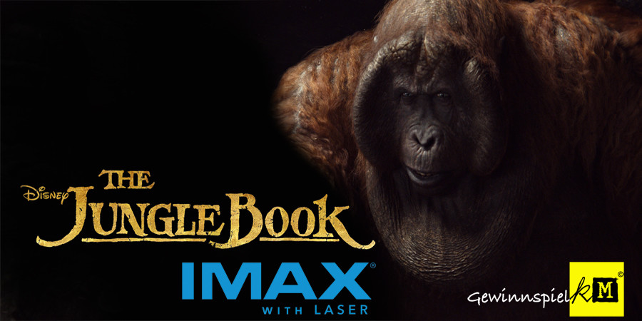 Rudyard Kipling - The Jungle Book IMAX - Disney - kulturmaterial
