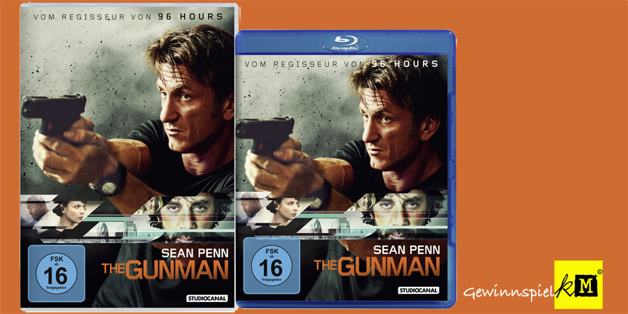 The Gunman - Sean Penn - Javier Bardem - Studiocanal - kulturmaterial