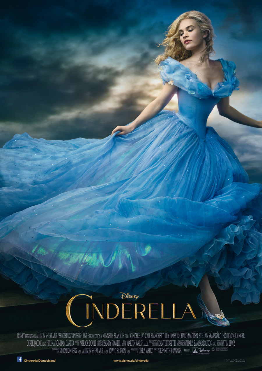 Cinderella - Kinoplakat - Disney - kulturmaterial