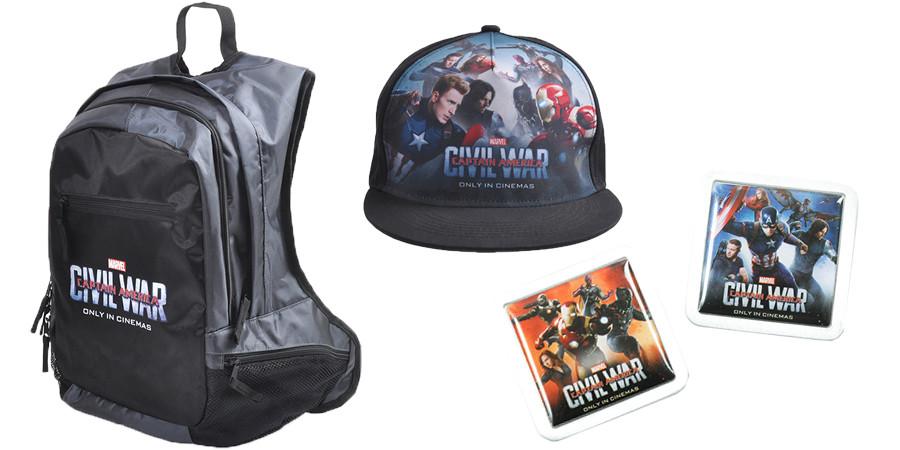 Captain America 3 - MARVEL - kulturmaterial - Gewinnspiel Fan Artikel