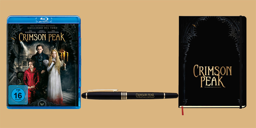 Guillermo Del Toro Crimson Peak Blu-ray DVD - Universal - kulturmaterial - Fan Artikel Gewinnspiel