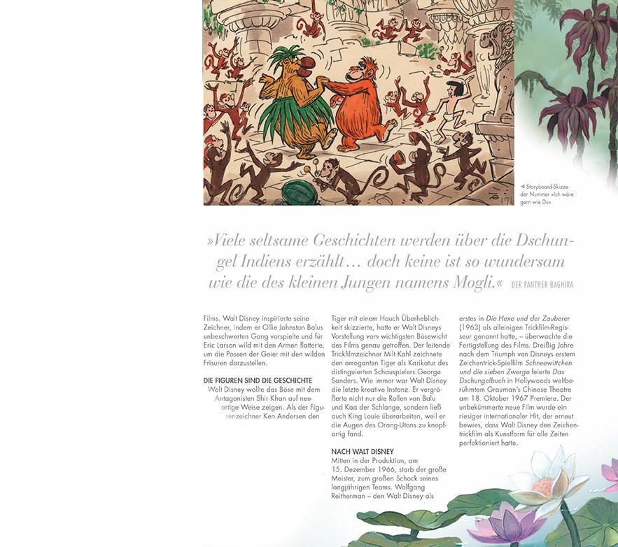 Walt Disney - Das Disney Buch - Dorling Kindersley - aus dem Inhalt - Das Dschungelbuch