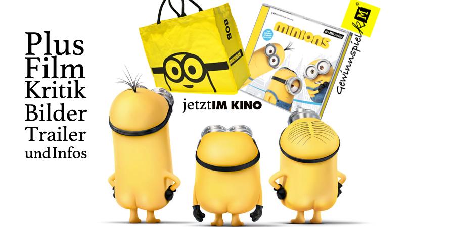 Minions - Gewinnspiel und Filmkritik - Universal - kulturmaterial - Title