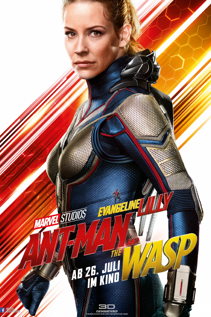ANT-MAN AND THE WASP - HOPE VAN DYNE_WASP_Evangeline Lilly - Marvel - kulturmaterial