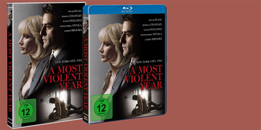 A MOST VIOLENT YEAR Blu-ray DVD - Oscar Isaac - Jessica Chastain - Universum - kulturmaterial