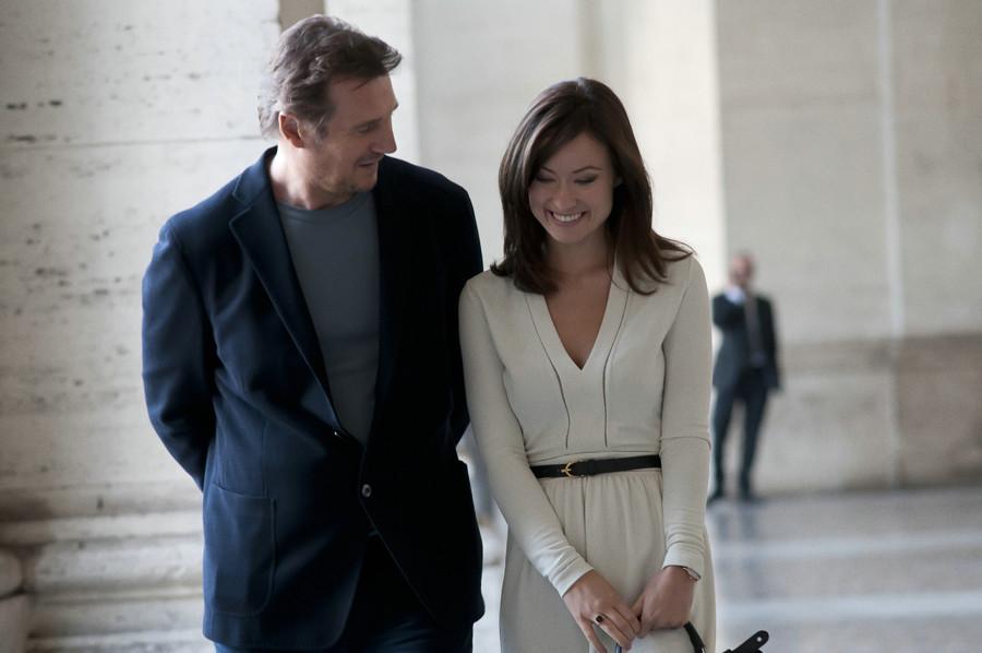 Dritte Person-Gewinnspiel-Liam Neeson-Olivia Wilde-Sony-kulturmaterial