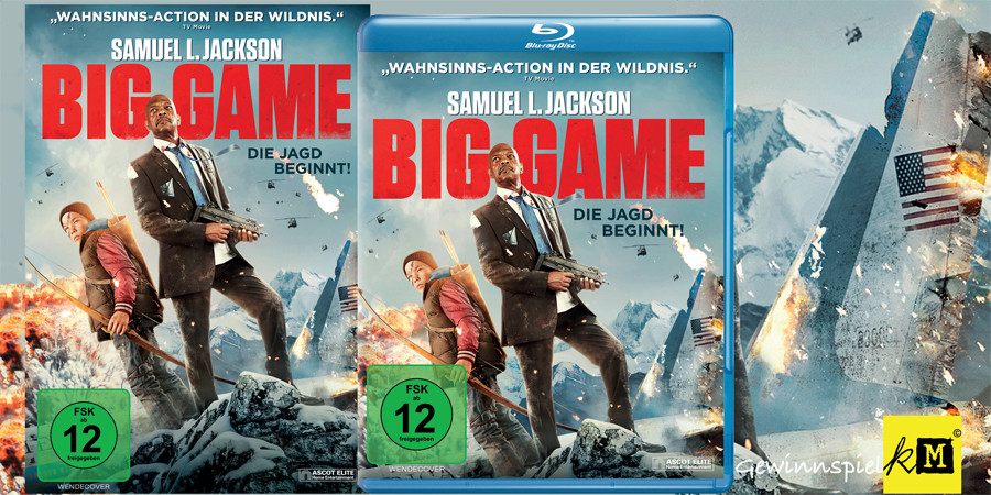 Big Game - Blu-ray - DVD - Samuel L Jackson - Ascot - kulturmaterial - Title